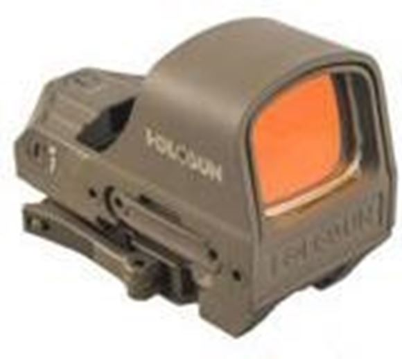 Picture of Holosun Reflex Sights - HS510C Reflex Sight, FDE, 2 MOA Red Dot; 65 MOA Circle, 10 DL & 2 NV Compatible, PEO/MAO Housing Finish, Waterproof 1m, Quick Release Mount, CR2032, 20,000/50,000 hrs