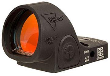 Picture of Trijicon SRO Reflex Optic - Sight Adjustable LED Optic, 2.5 MOA, Black Matte, 7075 Aluminum, Waterproof, 1 MOA/Click