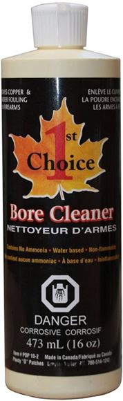 Picture of 1st Choice Bore Cleaner 16oz (473ml)