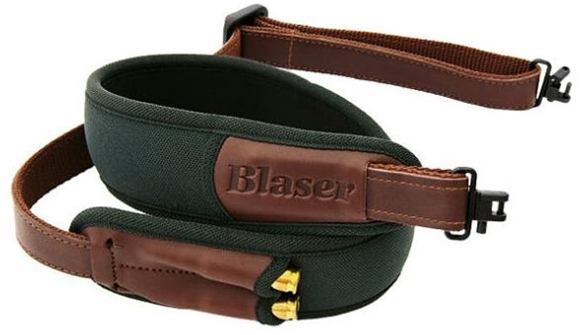 Picture of Blaser Accessories, Leather Sling, Green, For R93/R8, US Style Swivel