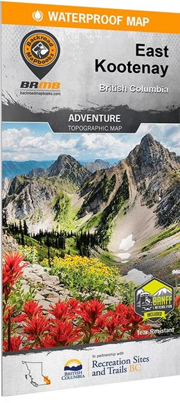 Picture of Backroad Mapbooks, Backroad Mapbooks - East Kootenay BC Map, 2nd Edition (BC)