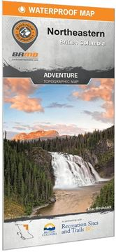 Picture of Backroad Mapbooks, Backroad Mapbooks - Northeastern BC Map, 1st Edition (BC)