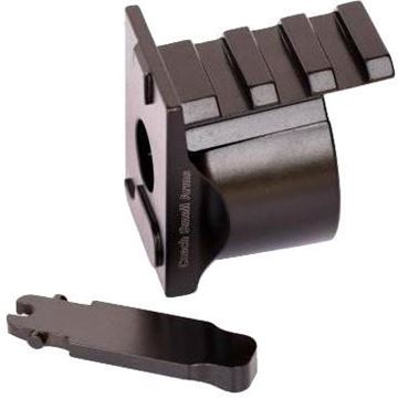 Picture of Czech Small Arms, Rifle Parts - VZ58 Rail Stock Sight Adaptor, Black