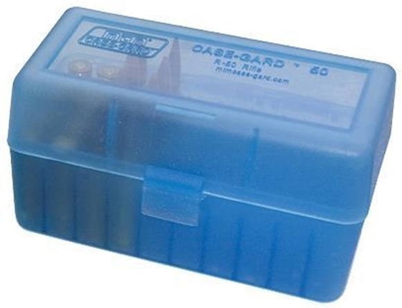 Picture of MTM 50 Series - 50 Round Ammo Box 22-250, 250 Sav., 30/35 Rem., 350 Rem. Mag., 6MM PPC, 7MM BR - Clear B