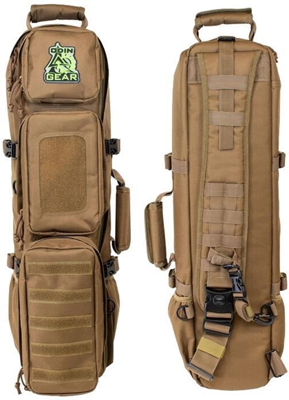 Picture of Odin Works Firearm Accessories - Odin Gear Ready Bag, Takedown Rifle Pack, Coyote