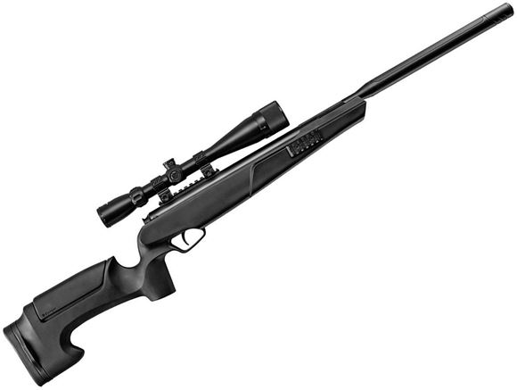 Picture of Stoeger Airguns S8000-TAC Air Rifle - 177 Caliber, 2 Stage Trigger, Gas-Ram System, Ambi Safety, 3-9x40mm Scope Included, Black Synthetic Stock, 1200fps