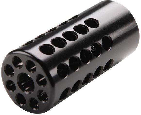 "Picture of Tactical Solutions Rifles & Accessories,10/22 Barrel Upgrades - X-Ring Compensator, 6061-T6 Aluminum, 1/2""x28 Threaded, .920"", Matte Black"
