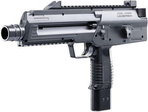Picture of Umarex Steel Storm - CO2 powered BB gun .177 cal, 6-Shot Burst, 300rd Reservoir, 30rd magazine, 430 FPS