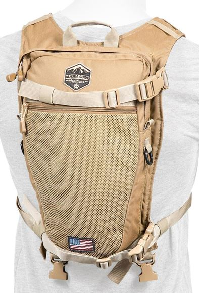 Picture of Alaska Guide Creations Hydration Packs - Stalker Backpack Add On, Coyote Brown, Fits Up To 3L Bladder(Not Included)