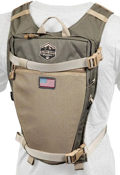 Picture of Alaska Guide Creations Hydration Packs - Stalker Backpack Add On, Ranger Green, Fits Up To 3L Bladder(Not Included)