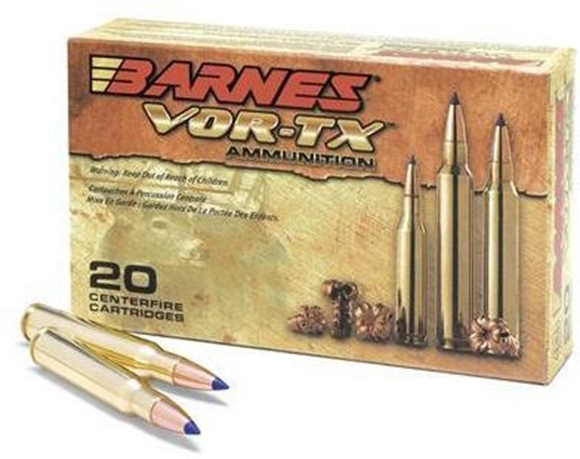 Picture of Barnes VOR-TX Premium Hunting Rifle Ammo - 7mm Rem Mag, 150Gr, TTSX BT, 200rds Case