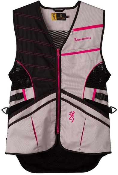 Picture of Ace Shooting Vest for Her, Hot Pink Large
