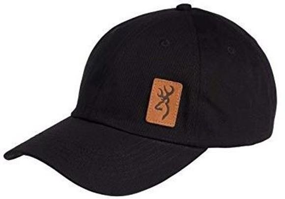 Picture of Browning Hats - Lynsey Logo, Brown Leather Logo & Rear Strap