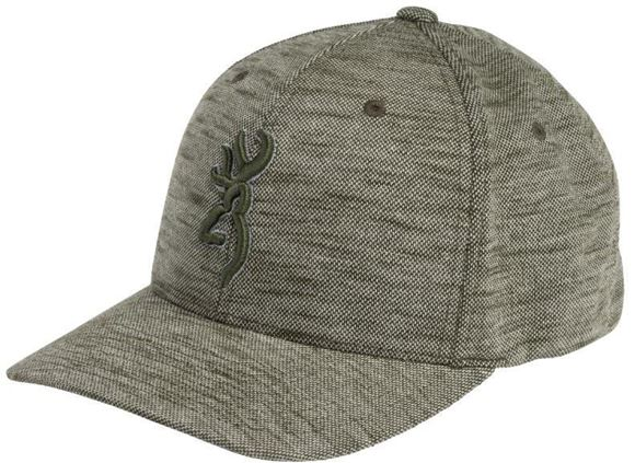 Picture of Browning Hats - Silver & Green Tweed Style, Flex-Fit, L/XL