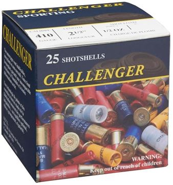 "Picture of Challenger Game Loads Shotgun Ammo - .410"", 2-1/2"", 1/2 oz, #5, 25rds Box"