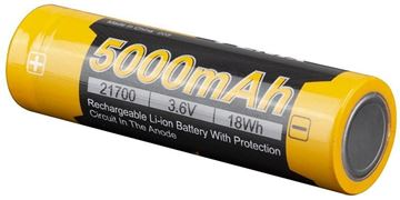 Picture of Fenix Accessories, Rechargeable Battery - ARB-L21, Rechargeable 21700 Li-ion Battery, 3.6V, 5000mAh,18Wh
