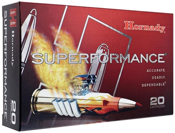 Picture of Hornady Superformance Rifle Ammo - 6mm REM, 95 gr, SST, 3235 Fps,  20 rds