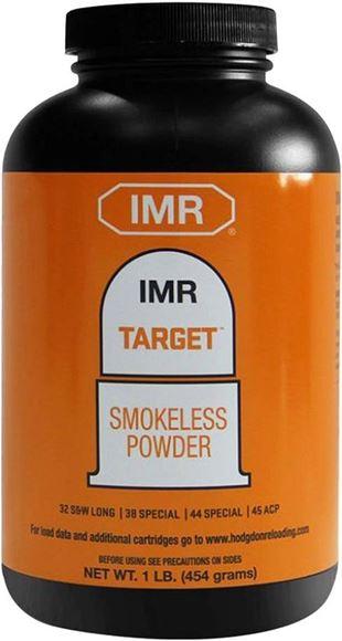 Picture of IMR Smokeless Pistol & Shotgun/Rifle Powders - IMR Target, 1lb (32 S&W Long, 38 Spl, 44 Spl, 45 ACP)