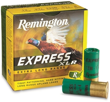 "Picture of Remington Express Extra Long Range Load Shotgun Ammo - 12Ga, 2-3/4"", 3-3/4 DE, 1-1/4oz, #5, 25rds Box, 1330fps"