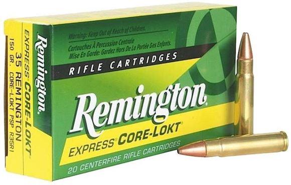 Picture of Remington Express Core-Lokt Centerfire Rifle Ammo - 35 Rem, 150Gr, Core-Lokt, PSP, 20rds Box