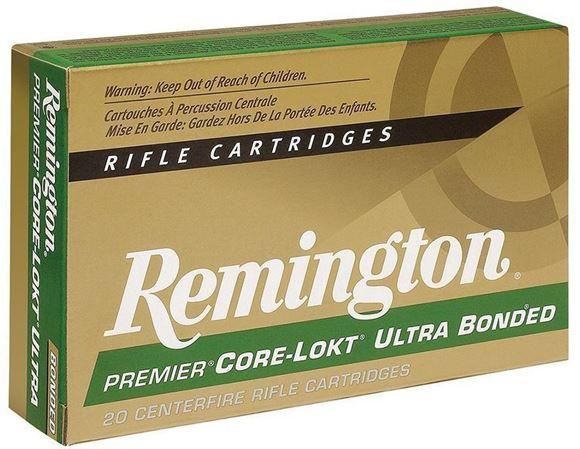 Picture of Remington Premier Core-Lokt Centerfire Rifle Ammo - 7mm Rem Short Action Ultra Mag, 150Gr, Core-Lokt, PSP, 20rds Box