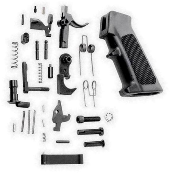 Picture of AR15 Lower Parts Kit (LPK) , No Pistol Grip, No Trigger. Mil-Spec
