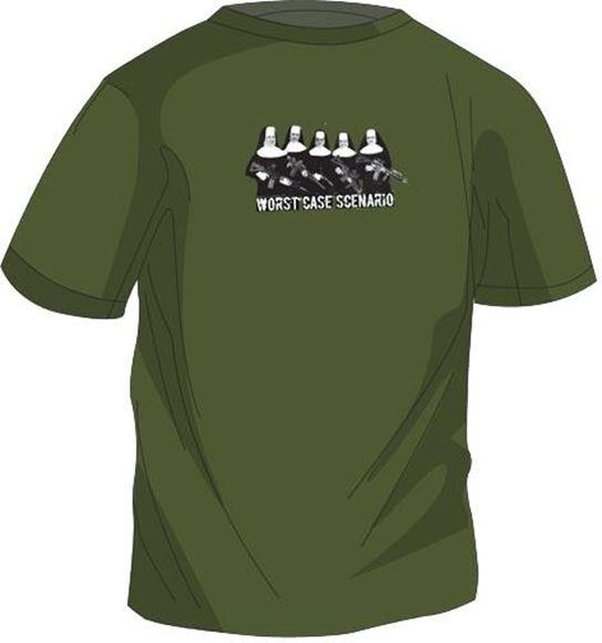 Picture of Magpul - Worst Case Scenario T-Shirt, OD Green, Medium