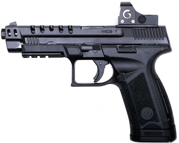 "Picture of Girsan MC9T Semi-Auto Striker Fire Pistol - 9mm, 5"", Black Polymer Frame, Changable Backstraps, Inc. Red Dot & Mount, Standard Rear Sight Plate"