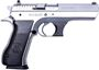 "Picture of IWI Jericho 941F Surplus SA w/Frame Mounted Safety Semi-Auto Pistol - 9mm, 4.5"", Hard Chrome, Steel Frame & Slide, Plastic Grips, 10rds, Combat Type White 3-Dot Fixed Sights"