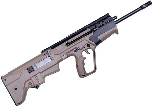 "Picture of IWI Tavor 7 Semi-Automatic Rifle - 308 Win, 20"", 4 RH Grooves, 1:12"", FDE Polymer Stock, Fully Ambidextrous, M-LOK Forend, Side Picatinny Rails, 5rds"