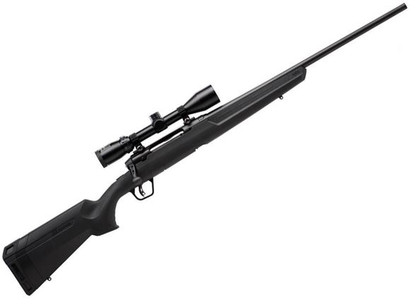 "Picture of Savage Arms Axis Series, Axis XP II Bolt Action Rifle - 30-06 Sprg, 22"", Matte Black, Carbon Steel, Matte Black Synthetic Stock, 4rds, w/ Vortex Crossfire 3-9x40mm"