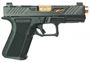"Picture of Shadow Systems MR918 Elite Semi-Auto Handgun - 9mm, 1-10"", 106mm 416R Stainless, Black Frame, Black RMR Cut Slide, Stainless Guide Rod, Tritium Front Sight, 2x10rds"
