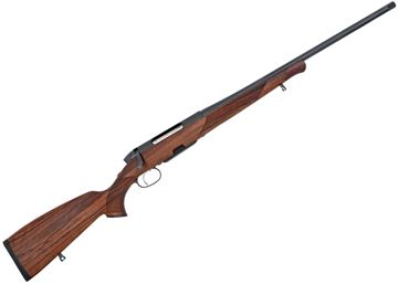 """Picture of Steyr Mannlicher CL II Standard Bolt Action Hunting Rifle - 300 Win Mag, 25.6"""", Cold Hammer Forged, MANNOX Surface Treatment, European Walnut Stock w/ Bavarian Cheak Piece & Fish Scale Pattern, 3rds, No Sight, 2 Stage Trigger w/ Hard Case"""