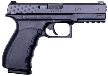 Picture of Tara TM9 Semi-Auto Pistol - 9mm, Black, Polymer w/ Steel Slide, 2x10rds