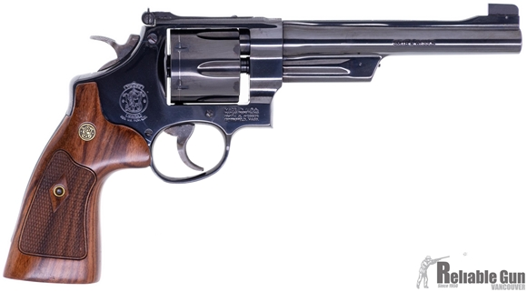 """Picture of Used Smith & Wesson Model 27-9 Double-Action 357 Mag, 6.5"""" Barrel, Target Sights, Very Good Condition"""