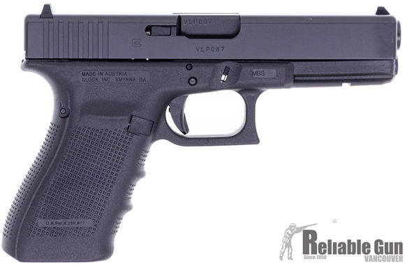 Picture of Used Glock 21 Gen4 Semi Auto Pistol, 45 ACP, 3 Magazines, Bladetech Holster & Mag Pouch, Original Box, Excellent Condition