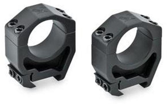 """Picture of Vortex Optics, Riflescope Rings -  Precision Series PMR Rings, Aluminum, 30mm, Low (0.87""""), Matte Black"""