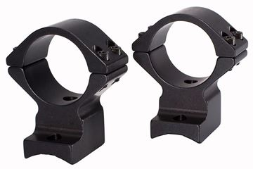 """Picture of Talley Lightweight One-Piece Alloy Scope Mount - 1"""", Medium, Black Anodized, For Tikka T1"""