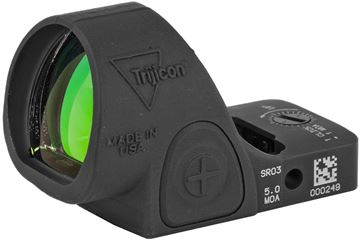 Picture of Trijicon SRO Reflex Optic - Sight Adjustable LED Optic, 5.0 MOA, Black Matte, 7075 Aluminum, Waterproof, 1 MOA/Click
