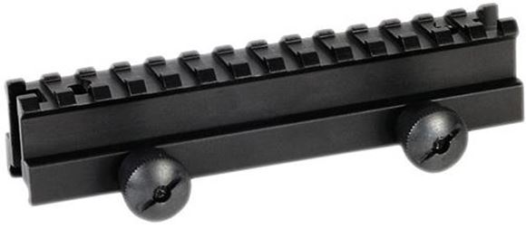 Picture of Weaver AR-15 Carry Handle Mounts - Picatinny Single Rail, With Thumb Nuts, Matte