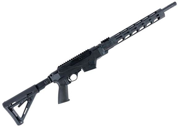 """Picture of Ruger PC Carbine Semi Auto Rifle - 9mm Luger, 18.6"""" Barrel, Takedown, Synthetic Pistol Grip Chassis w/ Free-Float Handguard, 6 Position Stock, Magazine Adapter Included, Threaded Fluted, 10rds"""