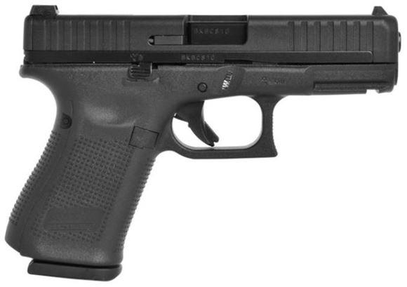 Picture of Glock 44 Semi Auto Pistol, 22 LR, 106mm Barrel, Hybrid Steel Polymer Slide, Adj Sight, 2x10rds, Adj Backstraps