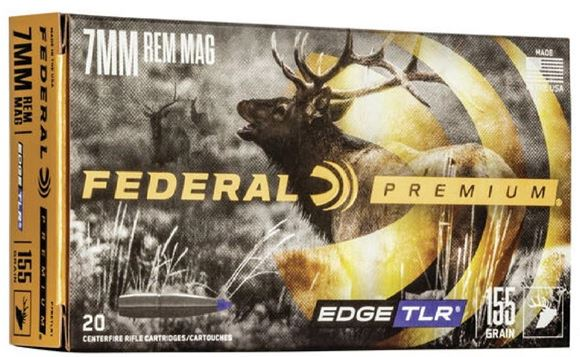 Picture of Federal Premium Edge TLR Rifle Ammo - 7mm Rem Mag, 155Gr, Edge TLR, 20rds Box