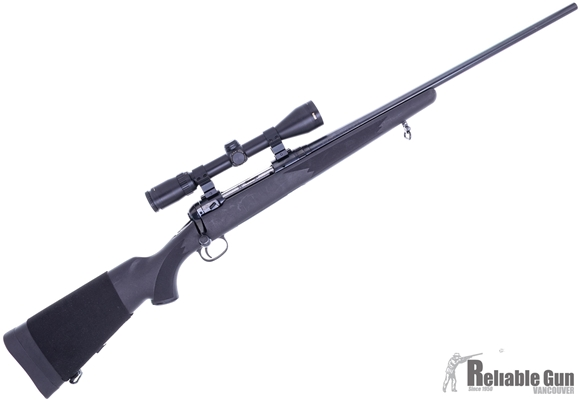 Picture of Used Savage Model 111 Bolt Action Rifle, 30-06 Sprg, Blued, Synthetic, Bushnell Elite 3200 3-9x40mm Duplex, 1 Mag, Good Condition
