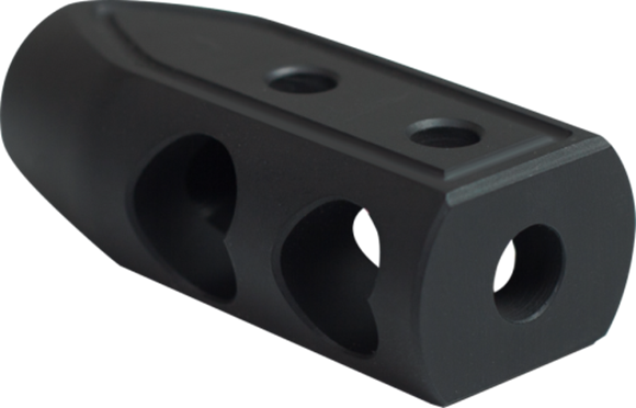 Picture of Timber Creek Outdoors AR15 Parts - Heart Breaker Muzzle Brake, 9mm, 1/2-28, Black