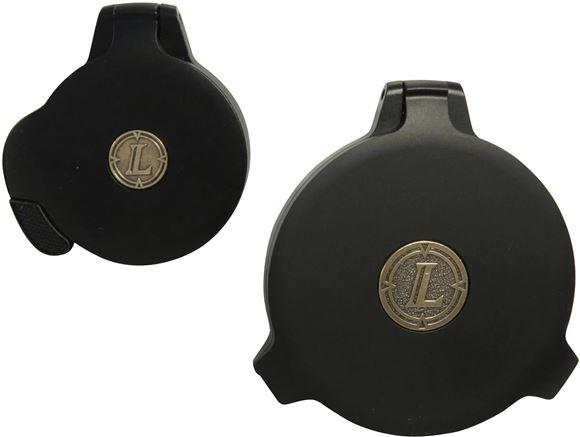 Picture of Leupold Alumina Flip Back Lens Cover Kit - 40mm Objective & Standard Eyepiece, Matte