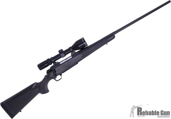 """Picture of Used Browning A-Bolt II Stalker Bolt Action Rifle, 300 Win Mag, 26"""" Barrel,  Matte Black Composite Stock, Swift 2.5-10x 50 Scope, 1 Magazine, Good Condition"""