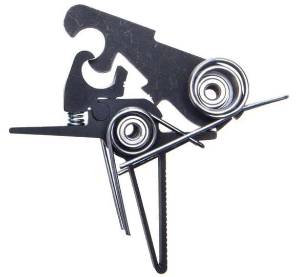 Picture of Elftmann Tactical Trigger Group, Assembly - AR-9/AR-10/AR-45 Pro Component Trigger, 3-1/2lbs, Flat, Sealed Bearings,