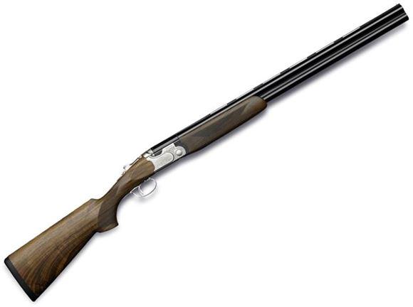 "Picture of Beretta 693 Field Over/Under Shotgun - 12Ga, 3"", 28"", Steelium, Blued, Oiled High-Grade Wood Stock, OptimaChoke HP Flush (F,IM,M,IC,C)"