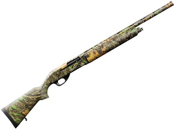 "Picture of Charles Daly 601 Semi-Auto Shotgun - 20Ga, 3"", 22"", Mossy Oak Camo, Checkered Synthetic Stock, 4rds, Vented Rib, Fixed Fiber Optic Sight, Mobil Choke (IC,M,F)"